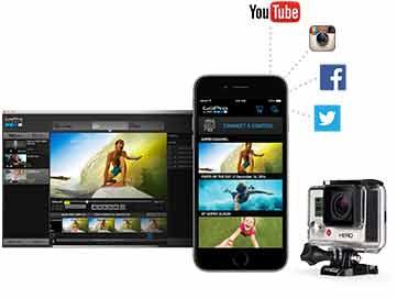Comprar una GoPro HERO 3 White aplicaciones