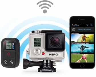 Comprar una GoPro HERO 3 White conectividad